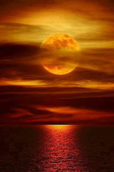 red moon at night meaning - photo #17