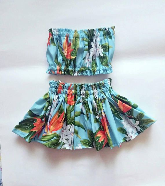 Check out this item in my Etsy shop https://www.etsy.com/listing/532042175/kids-hawaiian-pau-hula-skirtgirls
