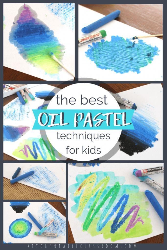 8 Unique Oil Pastel Techniques for Kids