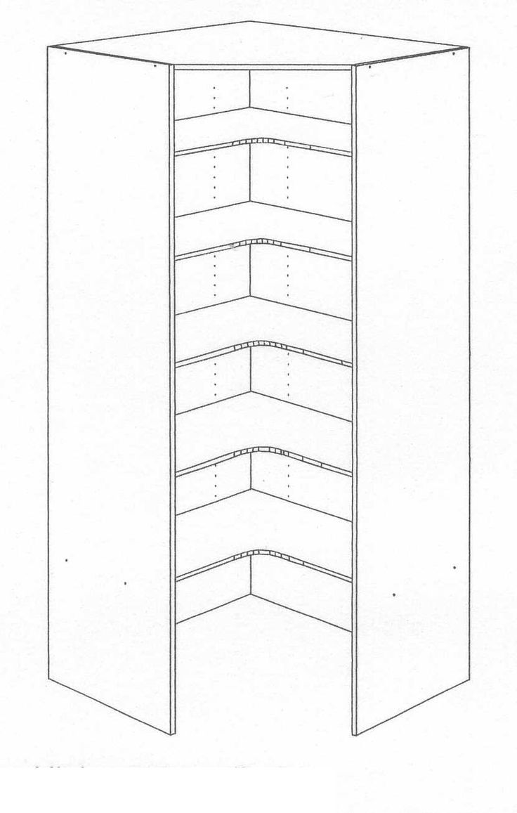 1000 Ideas About Corner Pantry On Pinterest Pantries