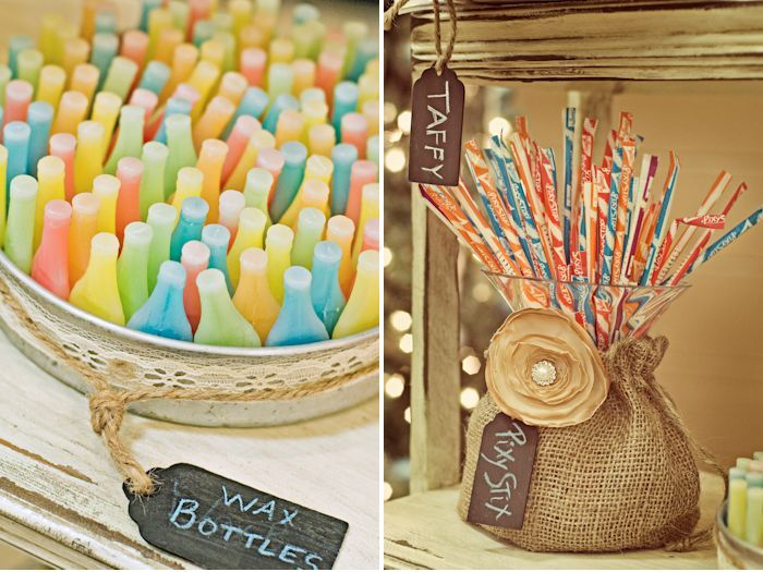 Vintage candy table | Photography by Jewel Cole: Candybar, Ideas, Candy Bars, Vintage Wedding, Candy Buffet, Wedding Candy, Candy Tables, Pixie Stix, Vintage Candy Bar