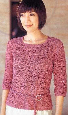 Пуловер с вырезом каре