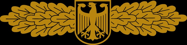 The emblem of the GSG-9, the German military anti-terror division, created in response to the military's failure in the Munich Massacre, and the handling of the RAF.