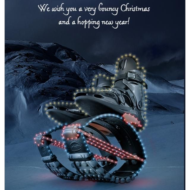 Kangoo Jumps:  Have a very bouncy Christmas and a hopping new year!