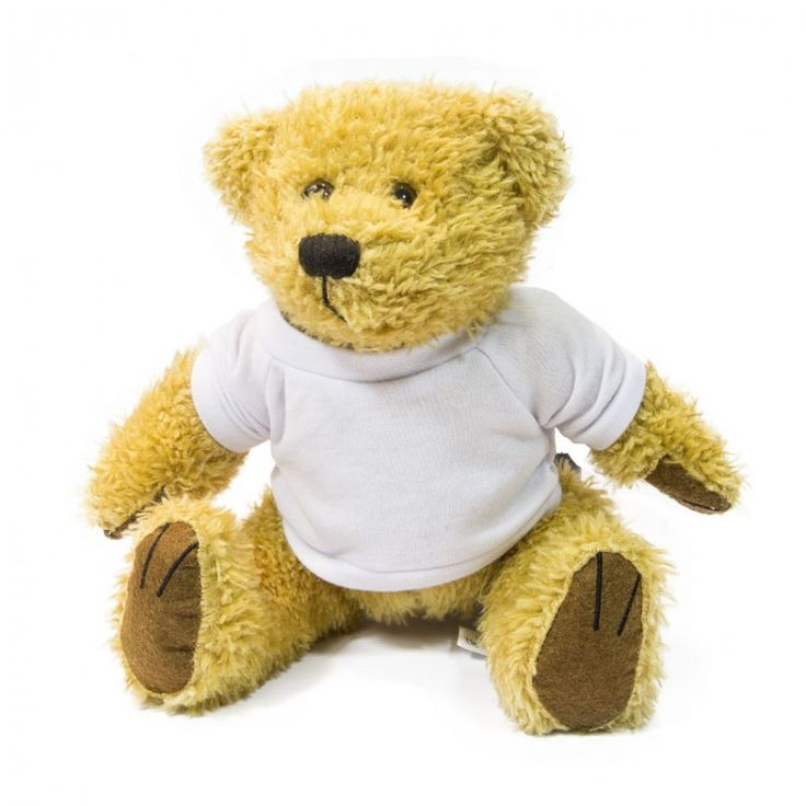 Perfect for personalised gifts for children, or even adults with a cuddly side.  Item Name: 18cm Teddy Bear  Material: Cuddly Plush  Height: 18cm
