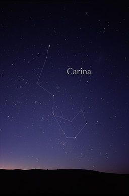 Carina (constellation) - Wikipedia, the free encyclopedia- tattoo idea!