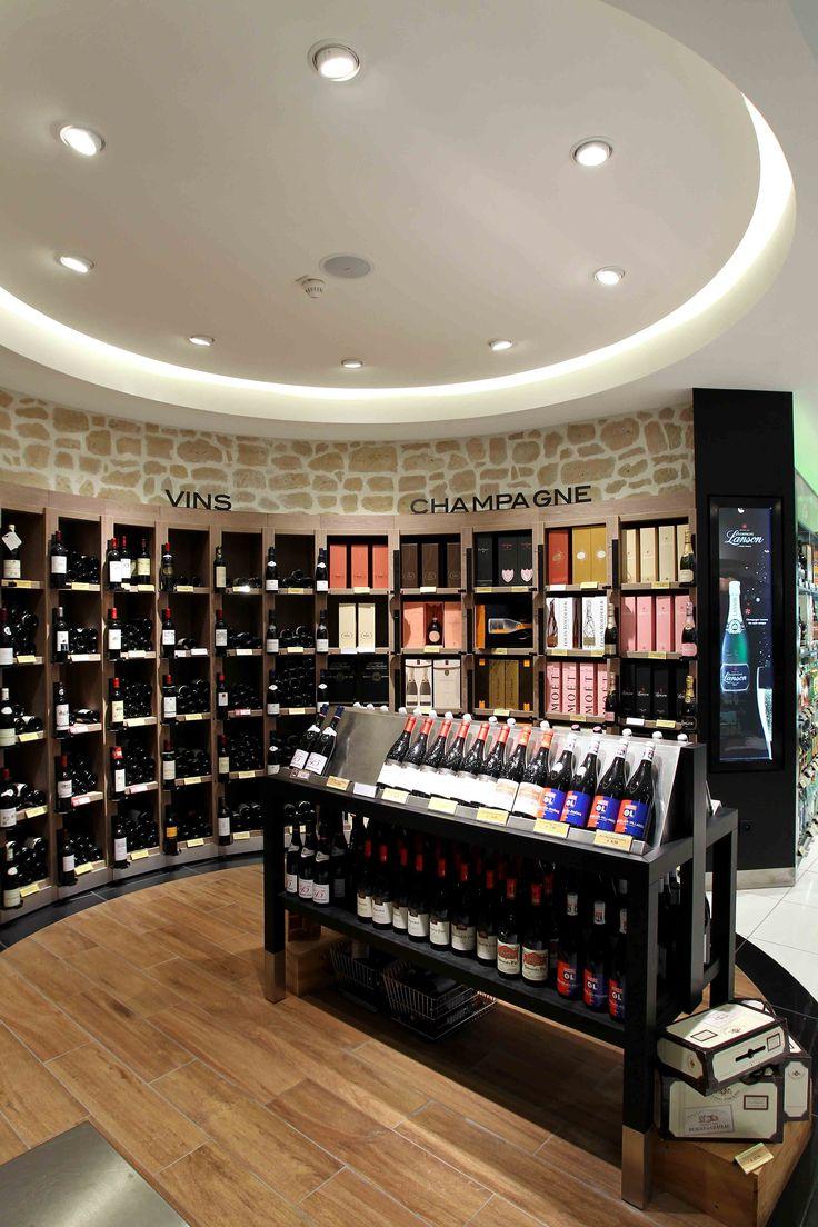 Aélia | Merchandising vins et spiritueux, duty free airport, mobilier commercial sur mesure | Groupe Lindera