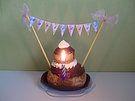 Banderole pour gâteau. MarieRêve crée et réalise votre décoration personnalisée, bars à bonbons, buffets douceur, pour les tables d'enfants, anniversaires, mariages, baptêmes, baby-showers, fêtes... http://mariereve7.wix.com/mariereve