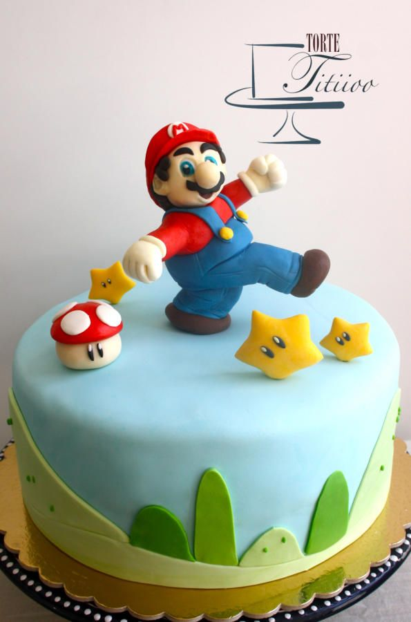 17 migliori immagini su super mario bros cakes su. Black Bedroom Furniture Sets. Home Design Ideas