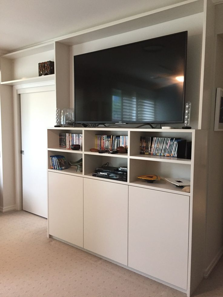 Customer Joinery: Huge entertainment wall unit