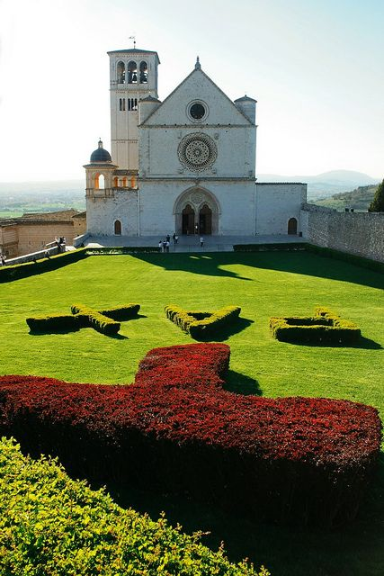 Assisi, Perugia, Umbria, Italy SACI art history field trips include the small hilltown of Assisi (Umbria), the birthplace of St. Francis, where you can see frescoes by the late-medieval artists Cimabue and Giotto in the famous Basilica. http://www.saci-florence.edu/17-category-study-at-saci/90-page-field-trips.php