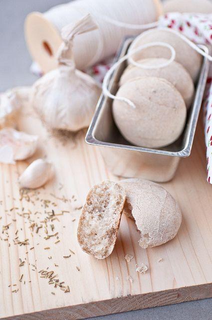 Panini all'aglio e rosmarino