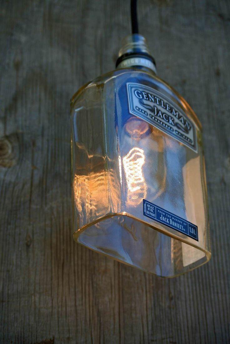 best 25 jack daniels decor ideas on pinterest jack daniels lamp gentleman jack daniels pendant light shade glass pendant light cover bottle light industrial lighting
