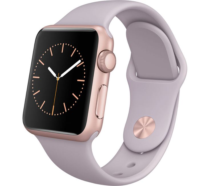 APPLE Watch 38 mm with Sports Band - Rose Gold & Lavender
