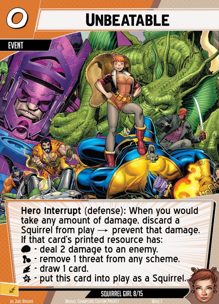 Marvel champions lcg custom allies and heroes hall of