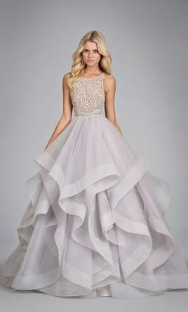 Hayley Paige Dori 6413: buy this dress for a fraction of the salon price on PreOwnedWeddingDresses.com