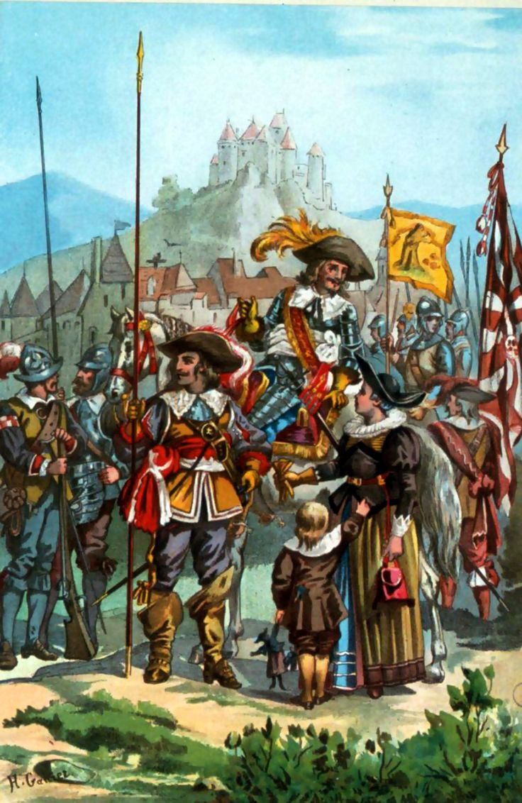 Imperial German forces during the Thirty Years War                                                                                                                                                     More