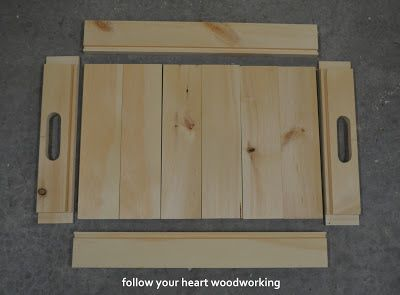 Serving Trays Made From Pine