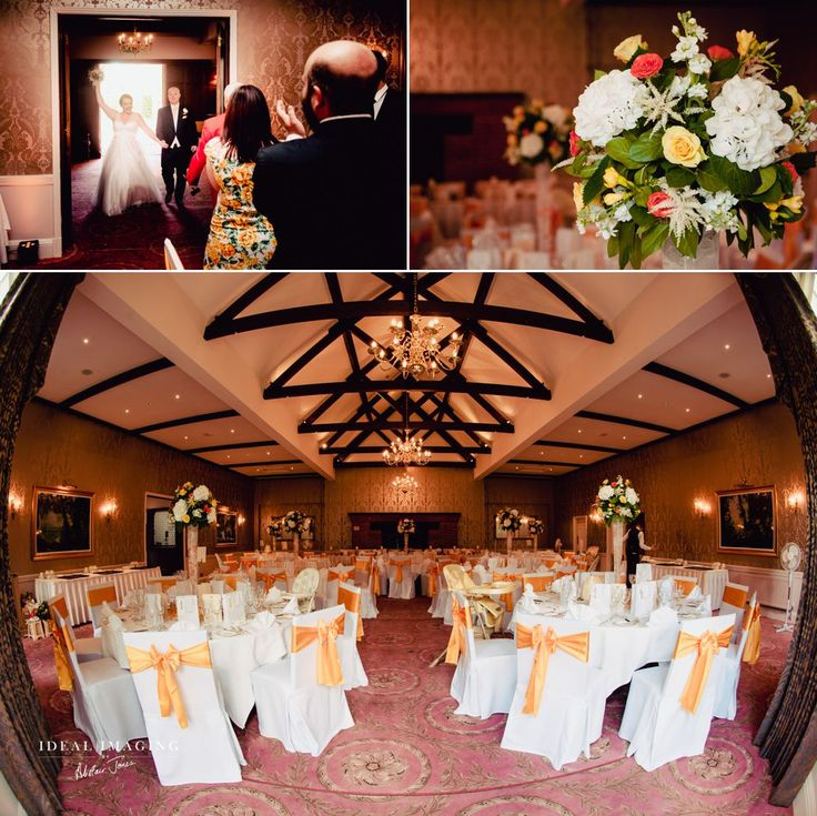 Tylney Hall Weddings - Chestnut Suite