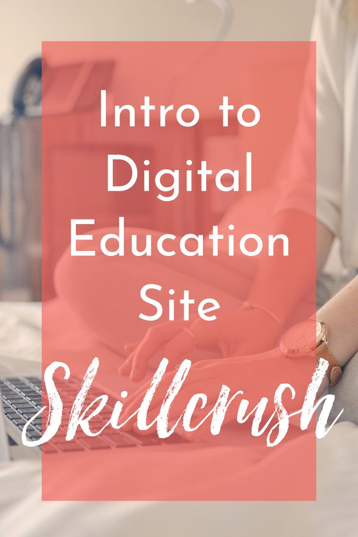Introduction to Skillcrush - a digital education site for women (and men) who want to learn tech skills - Create Wherever