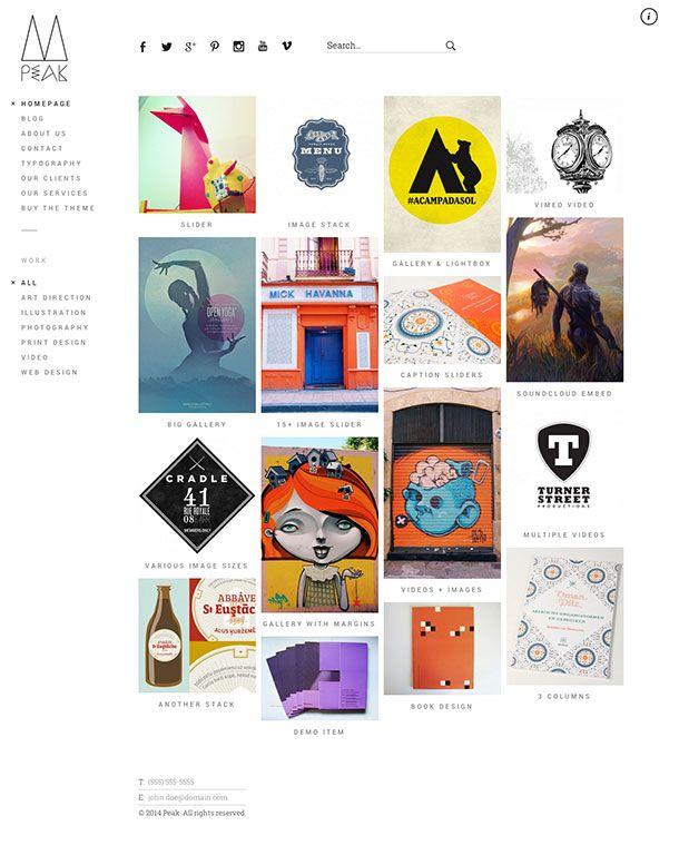 26 mẫu thiết kế Website tốt nhất cho nhà thiết kế