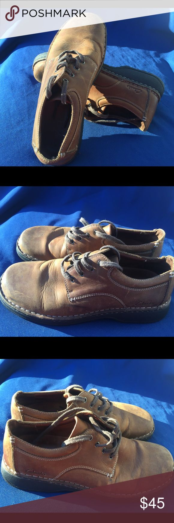 Men's Clarks size 10 Gently used Clarks Shoes Loafers & Slip-Ons