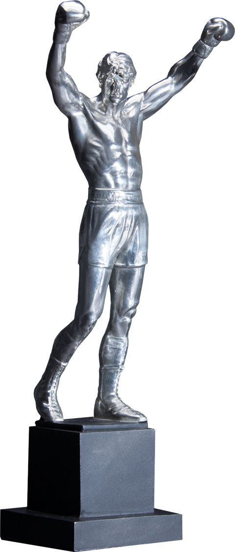 Rocky Balboa Pewter Statue