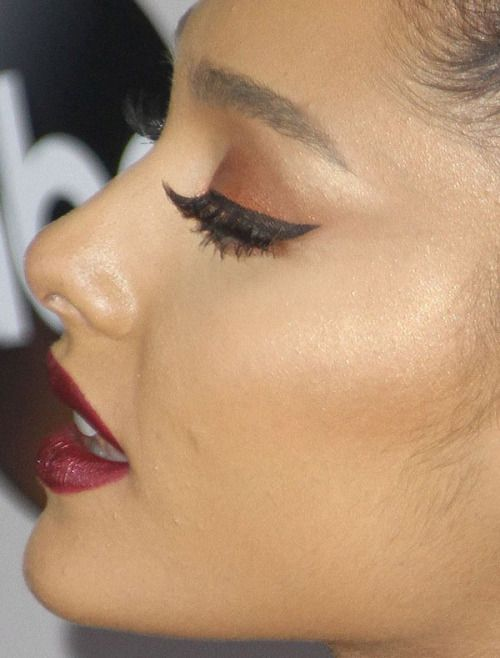 ariana grande ariana grande red carpet makeup celeb celebrity celebritycloseup