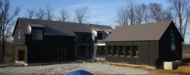 17 best images about siding on pinterest cabin - Black metal roof pictures ...