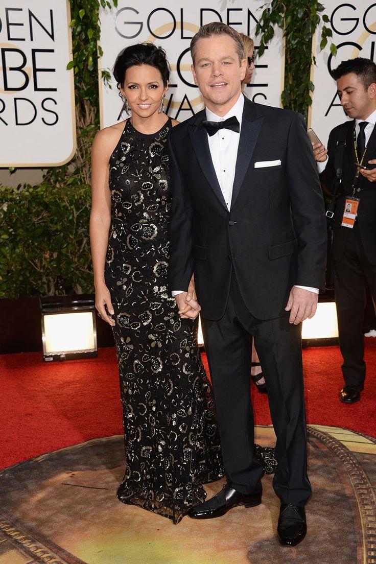 2014 - Matt Damon & Luciana Damon