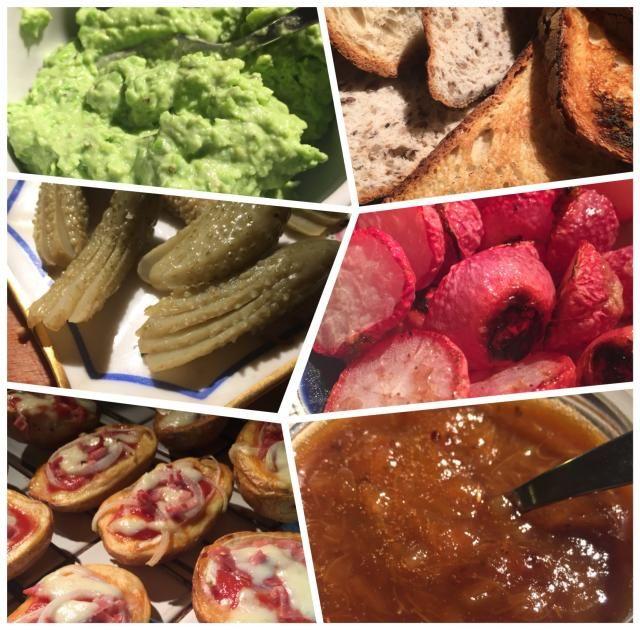 Assiette de charcuterie enrichie.... Même plus la place pour mettre la charcuterie avec le pain maison grillé ou pas, de la Tartinades au petit pois, du chutney de rhubarbe, radis grillés et pomme de terre façon pizza… #petitpois, #rhubarbe #pommedeterre #cuisine #food #homemade #faitmaison #yummy #cooking #eating #french #foodpic #foodgasm #instafood #instagood #yum #amazing #entree #platprincipal #salade #brunch