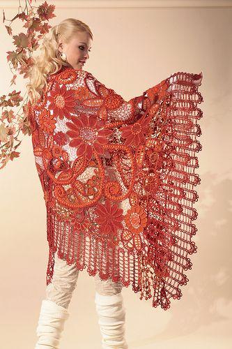 Beautiful Irish Crochet Work By Miroslava Gorokhovich