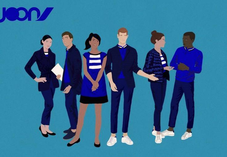 L'uniforme des hôtesses et stewards de Joon, la nouvelle compagnie aérienne à coûts réduits d'Air France, s'inspirera des nouveaux codes de la mode, « simple et chic » .