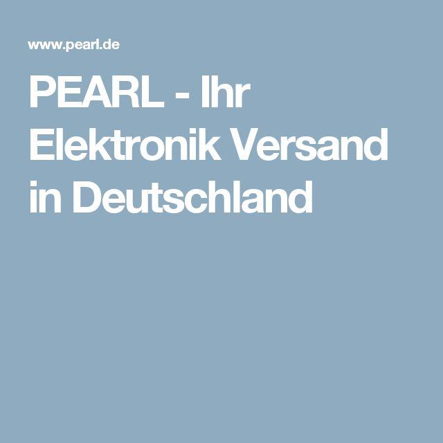 PEARL - Ihr Elektronik Versand in Deutschland