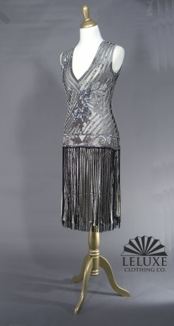 love this one too: Flappers Dresses, Black Silver, Tango Black, Originals Tango, Silver Dress, Artists Dresses, 1920S Inspiration Dresses, Beads Dresses, Silver Artists