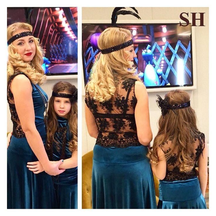 Прическа и make up очаровательных принцесс для тематической вечеринке 20-х годов Над образом работал стилист-визажист @lady________k  SOHO Fitness &Spa Екатеринославский бульвар 1 Cascade Plaza т.:(067)565-22-55 soho.dp.ua #soho_dnepr #sohofitness #makeup #hair #happy #like #love #family #pretty #paulmitchell #americancrew #labiosthetique #brazilianblowout #укладки #прически #стрижки #окрашивание #аминокислотноевыпрямление #макияж #макияжднепропетровск #парикмахерднепропетровск…