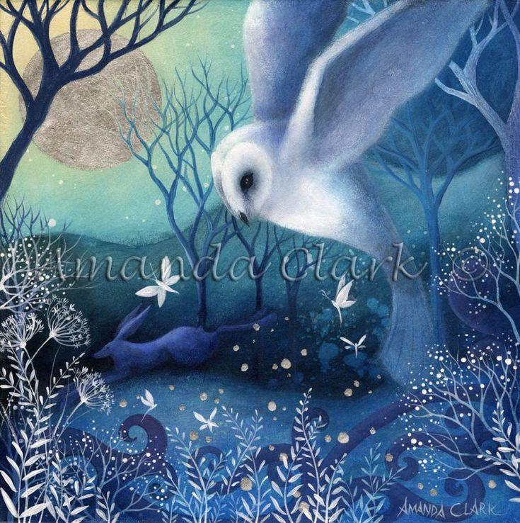 Silver Light  -  Amanda Clark- art gallery, original paintings