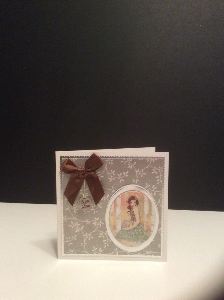Santoro Willow card