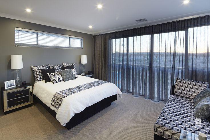 Master bedroom design in The Monterey V2 Display Home by #VenturaHomes #interiordesign