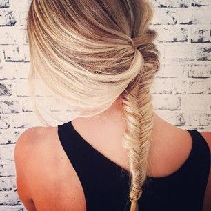 Fish braid love, seriously, this looks awesome. #Fitgirlcode