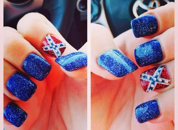 Best 25 redneck nails ideas on pinterest browning camo nails 12 southern pride rebel flag nails httpslodivenails prinsesfo Gallery