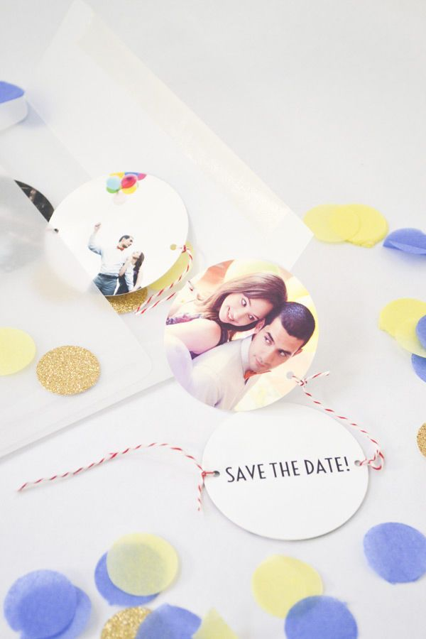 10 Ideas for DIY Save the Dates