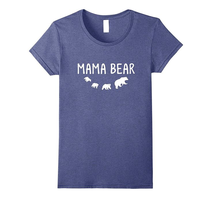 Women's Mama Bear 3 Cubs T-Shirt