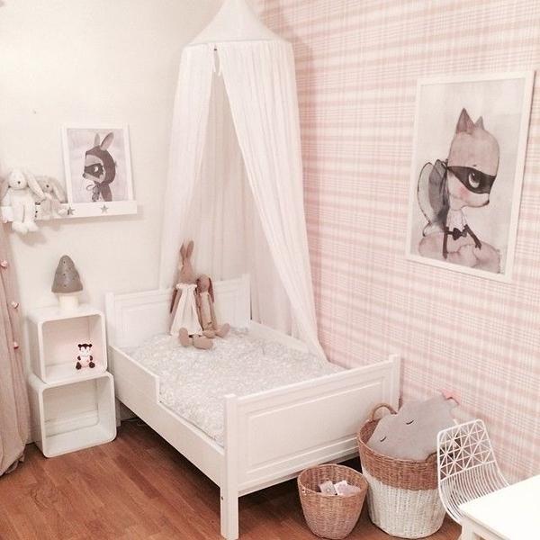 Mejores 45 imgenes de En Rosa Habitaciones de Beb en Pinterest
