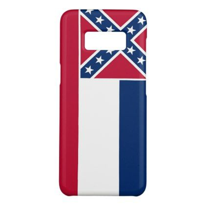 #Samsung Galaxy S8 Case with Mississippi Flag - #trendy #gifts #template