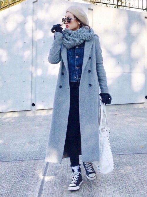 寒い時期はインナーとして合わせたり、春はアウターとしても着られる定番アイテムのGジャン。今回は、今の時期から着られるGジャンの着回しコーデをご紹介します。