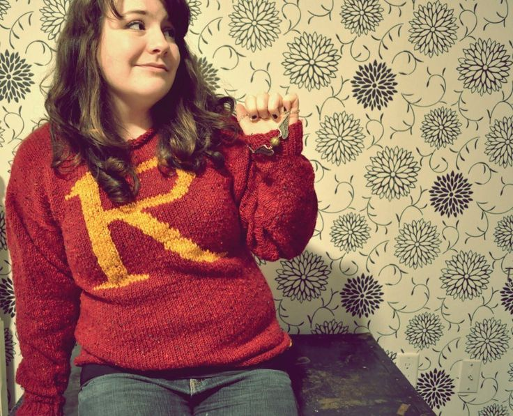@Mari Beth  Knit a Harry Potter sweater- also this is what I want for Christmas next year