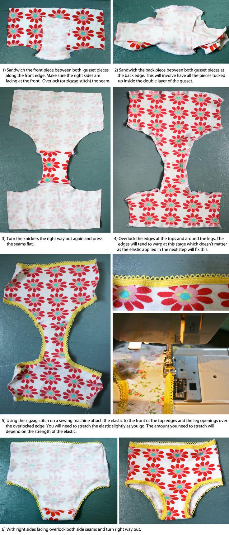 DIY knicker/pants/undies tutorial