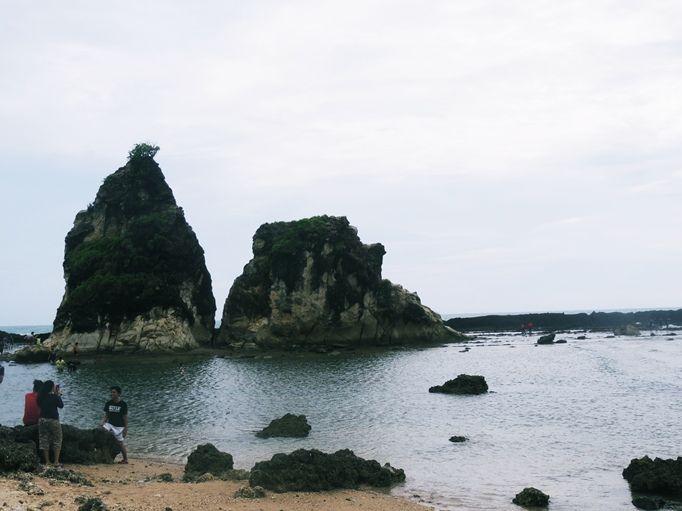 Tanjung Layar Sawarna, Indoesia