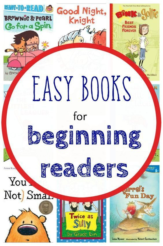 Books list for beginning readers. These are easy to read, but very well written books. Perfect for Kindergarten and 1st grade.